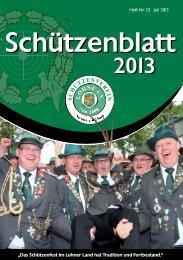 schuetzenblatt 2013.pdf - Schützenverein Lohne eV von 1608