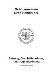 Satzung - Schützenverein Groß Hehlen e.V.