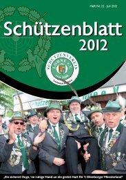 schuetzenblatt 2012.pdf - Schützenverein Lohne eV von 1608