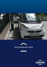 Geschäftsbericht 2012 - GWW Wiesbadener Wohnbaugesellschaft ...