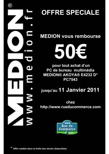 Flyers ODRPC7543_ 50 euros 2010 - Rue du Commerce