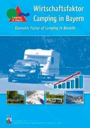 Wirtschaftsfaktor Camping in Bayern