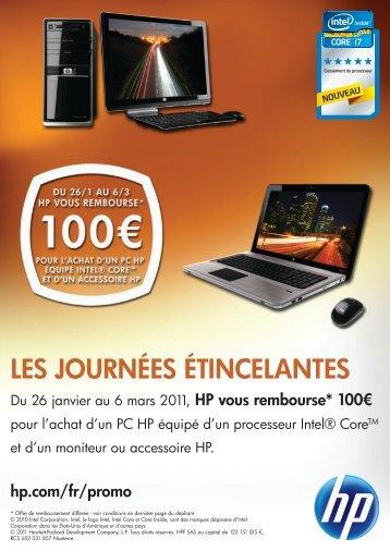 Flyer HP Performance.indd - Rue du Commerce