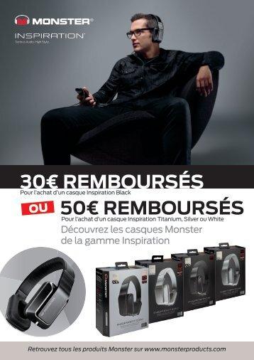 50€ remboursés - Rue du Commerce