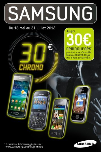 Du 16 mai au 31 juillet 2012 inclus - Maxi Bons Plans