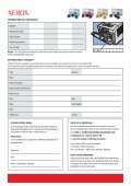 8948 XEROX Free Ink Claim Form FR - Rue du Commerce - Page 2