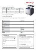 Xerox Phaser® 6128MFP - Rue du Commerce - Page 2