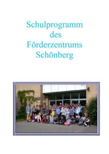Schulprogramm des Förderzentrums Schönberg - Schulamt Kreis Plön