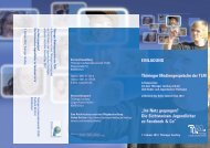 Thüringer Mediengespräche der TLM in Kooperation mit dem ...