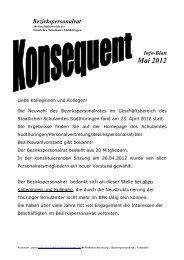 Infoblatt Mai 2012 BPR - Staatliches Schulamt Südthüringen