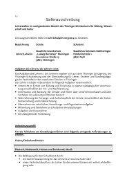 Ausschreibung_Grundschule_L.Bechstein_Meiningen Musik
