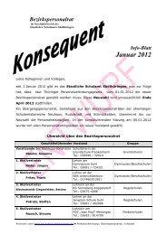 Januar 2012 - Staatliches Schulamt Südthüringen