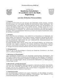 Mobbing - Staatliches Schulamt Regensburg - Stadt Regensburg