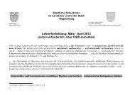 ProgrammMaerz-April 2013.pdf - Staatliches Schulamt Regensburg ...