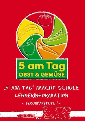 Sekundarstufe 1 - 5 am Tag - Schulfrucht