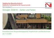 Vorstellung der Berufsschule II - Staatliches Schulamt Regensburg