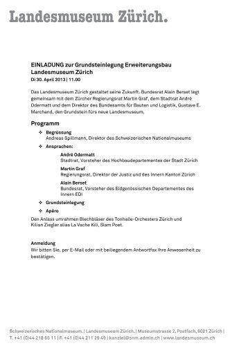 einladung zur grundsteinlegung - technologiepark tübingen, Einladungen