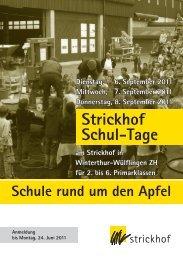 Strickhof Schul-Tage, 6. – 8. September 2011