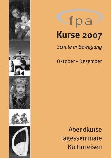 Kurse 2007
