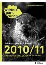 Jahresprogramm Schulen 2010/11