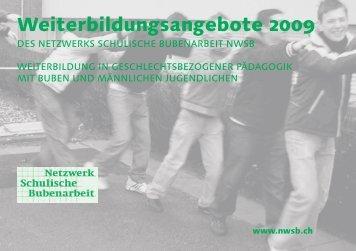 Weiterbildungsangebote 2009