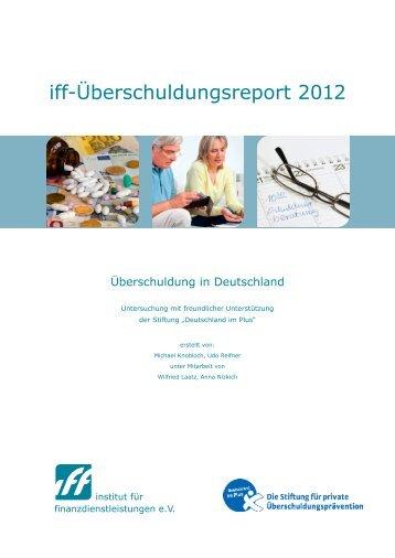 iff-Überschuldungsreport 2012 - easyCredit