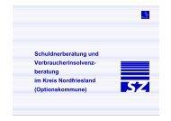 Der Kreis Nordfriesland als Optionskommune
