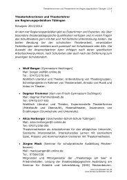 Theaterlehrerinnen und Theaterlehrer - Landesbildungsserver ...
