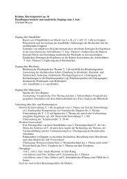 Handlungsorientierte Zugänge zum 3. Satz
