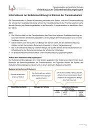 Informationsblatt zur Selbsteinschätzung (pdf)