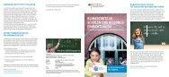 BMU-Faltblatt: Klimaschutz in Schulen und Bildungseinrichtungen