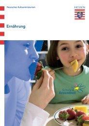 Ernährung im Ordner S&G - Schule & Gesundheit - Hessen