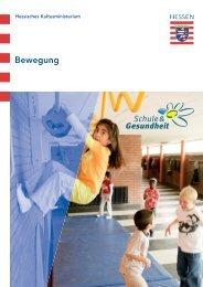 Bewegung im Ordner S&G - Schule & Gesundheit - Hessen