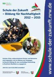 Ausschreibungsflyer 2012-2015 (PDF, 582 KB) - Schule der Zukunft