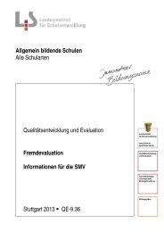Schülervertretung (pdf) - Landesbildungsserver Baden-Württemberg