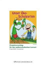 Unser Öko-Schulgarten - Oekolandbau.de