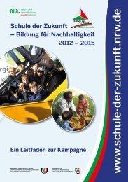 Leitfaden zur Kampagne 2012-2015 (PDF, 1,9 MB) - Schule der ...