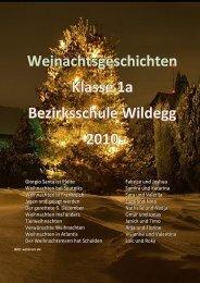 Weihnachtsgeschichten 1a - Schule Möriken-Wildegg