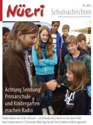 Schulnachrichten - Schule Nürensdorf