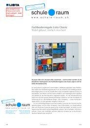 Fachbodenregale Lista - AG für Schule & Raum