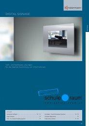 DIGITAL SIGNAGE - AG für Schule & Raum