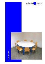 Trapeztisch - AG für Schule & Raum