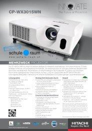CP-WX3015WN - AG für Schule & Raum