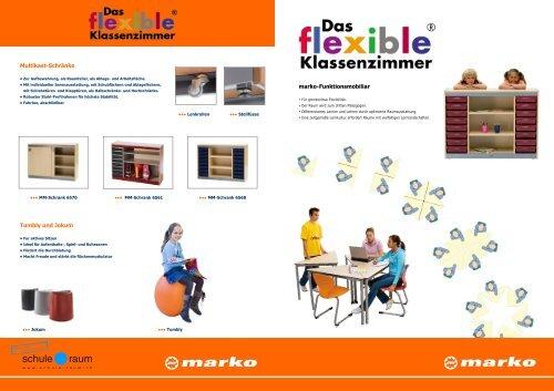 Schulstühle - Tische - Korpusse MARKO - AG für Schule & Raum