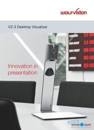Innovation in presentation - AG für Schule & Raum