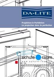 Projektionsleinwände DA-LITE - AG für Schule & Raum