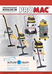 Industriesauger / Staubabsaugung PRO MAC - AG für Schule & Raum