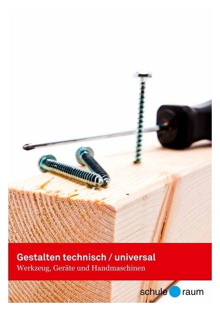 Teilkatalog Werkzeug, Geräte und Handmaschinen - AG für Schule ...