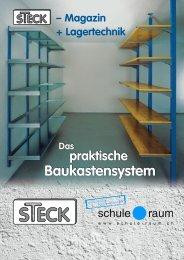 Schwerlastregal STECK - AG für Schule & Raum