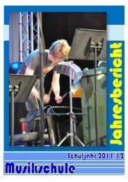 Jahresbericht Schuljahr 2011/12 - schule online - stans!